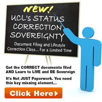 ulc UCLs STATUS CORRECTION SOVEREIGNTY PACKAGE small What is a Secured Party Creditor?